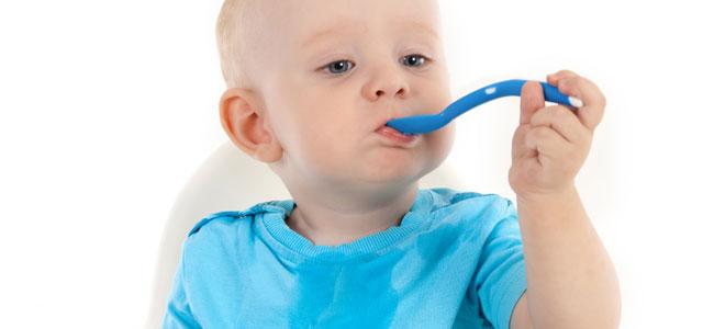 Los bebés pueden comer de todo