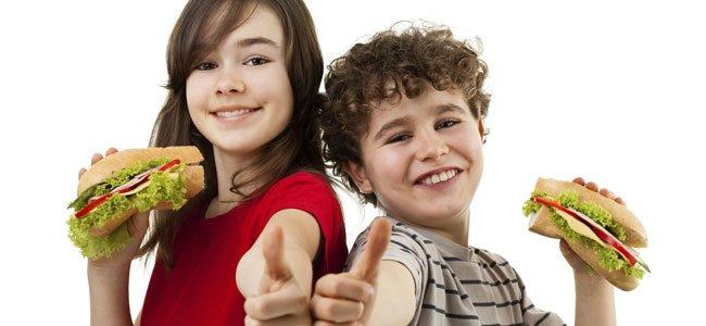 Ideas para preparar bocadillos para la merienda de los niños