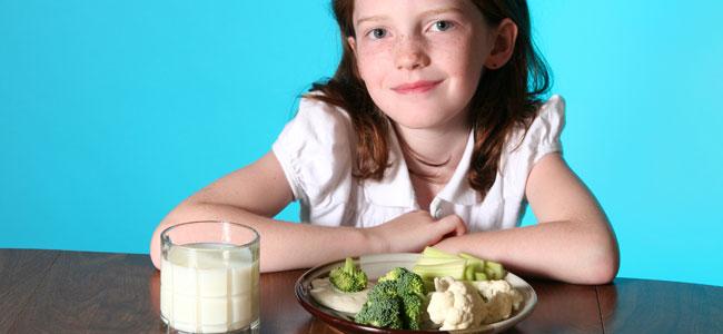 Brócoli y coliflor en la alimentación infantil