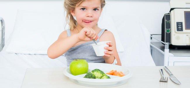 Alimentación para niños con cáncer