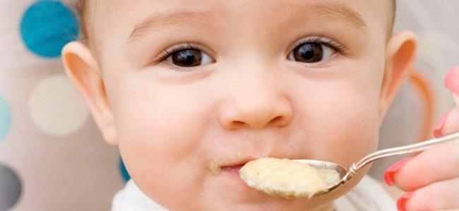 Cereales en la dieta del bebé