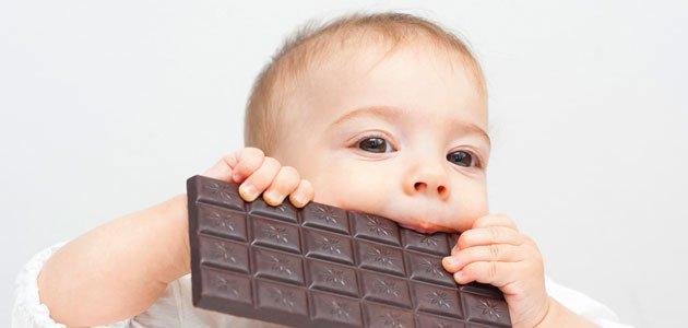 Mitos sobre el chocolate para niños y embarazadas