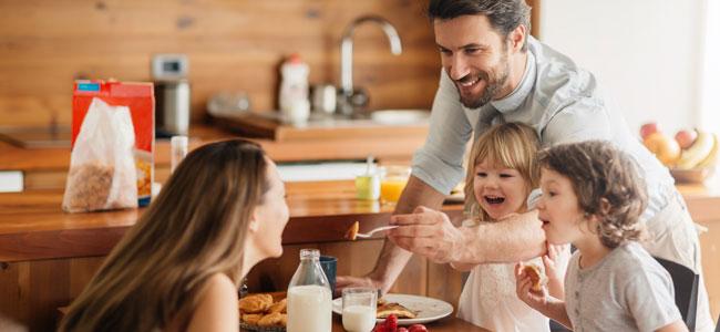 Comer en familia, la importancia para el niño