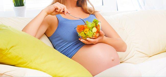 Dieta durante el embarazo