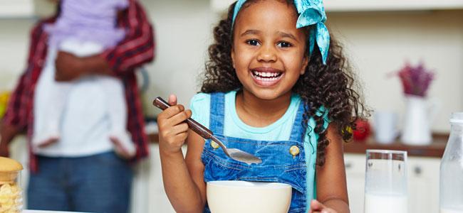 La comida afecta a los cambios de humor de los niños