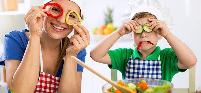 Consejos para que los niños tomen verduras