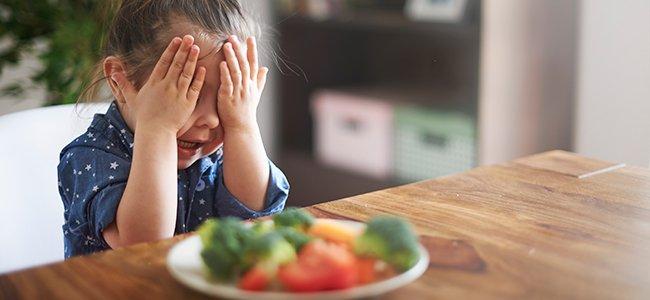 Qué alimentos odian los niños
