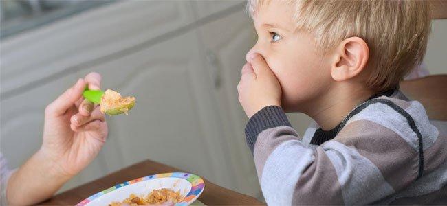 Errores con la alimentación de los niños
