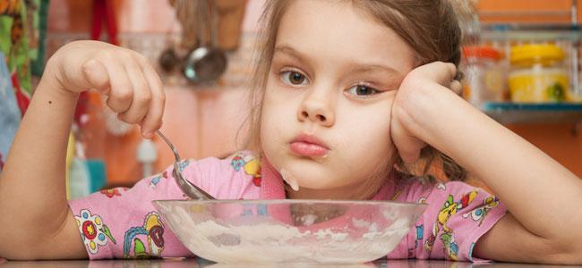 Cuando faltan minerales en la dieta del niño