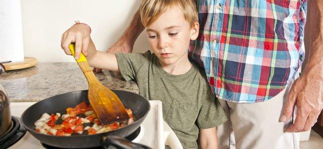 Fritura para niños: sí o  no