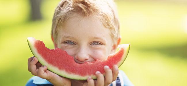 Fruta para niños: consejos de nutrición infantil