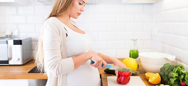 La higiene en los alimentos durante el embarazo