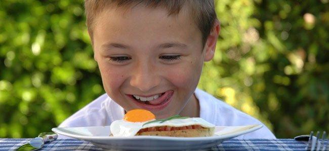 Los huevos en la dieta infantil