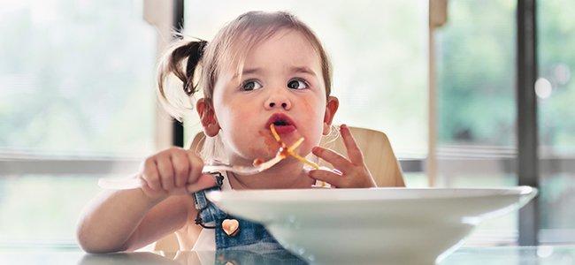 Menú para niños entre 2 y 3 años