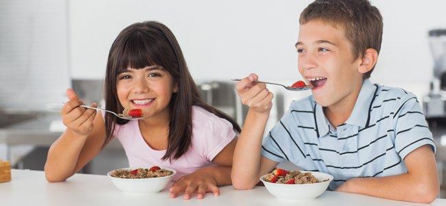 Menú sano para niños de 6 a 12 años