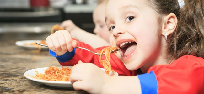 Menú para niños con intolerancia al gluten