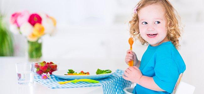 Menú semanal infantil para comer sano
