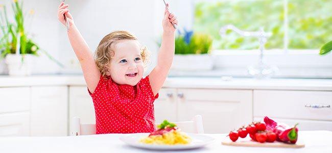 Menús infantiles por edades