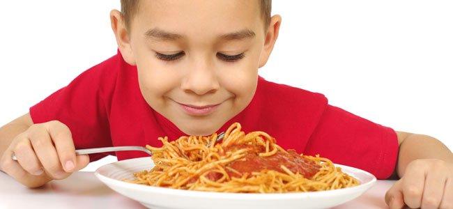 Menú para niños hiperactivos