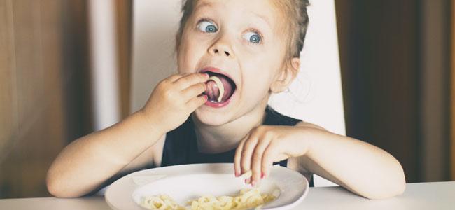 Merienda-cena para los niños