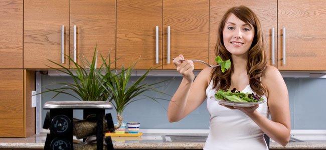 Embarazada come espinacas