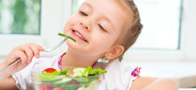 La dieta crudivegana en la infancia