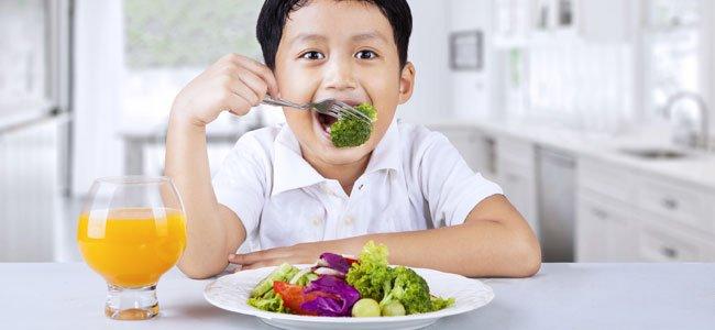 Riesgos de la dieta vegana para los niños