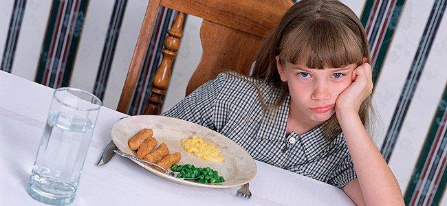 Mi hijo come mal, ¿qué hago?