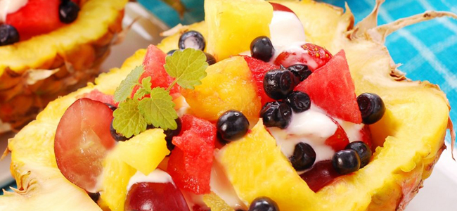 piña frutas