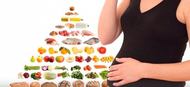 Pirámide alimenticia durante el embarazo