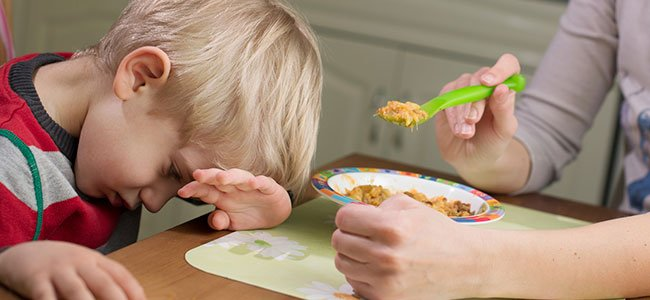 Premios o castigos a la comida infantil