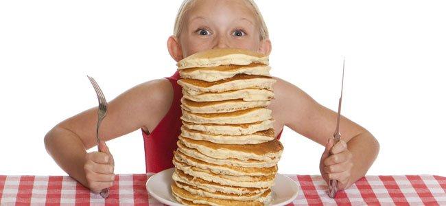 Proporciones de la dieta de los niños