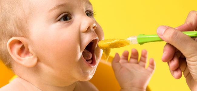 Cremas y purés de verduras para bebés