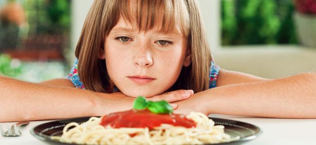 Situaciones difíciles relacionada con la alimentación de los niños