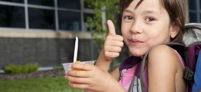 Snacks sanos para niños