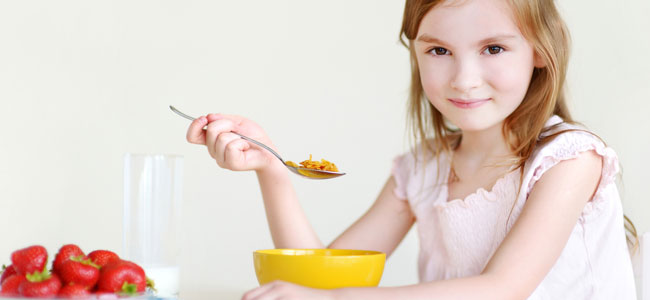 Los cereales más adecuados para los niños
