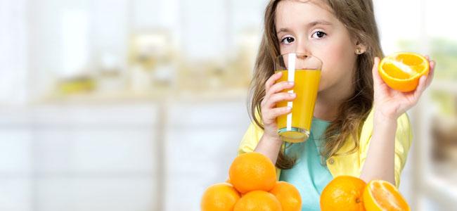 Vitamina C para los catarros de los niños, ¿ayuda?