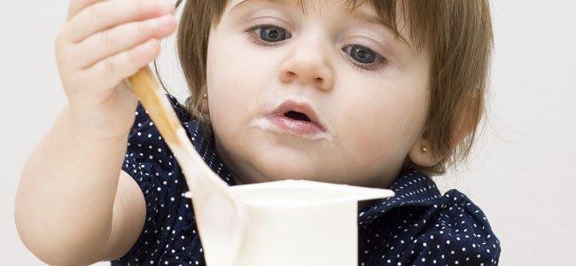 Introducir yogur a la dieta de los bebés