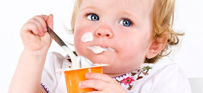 Un yogur para tu bebé