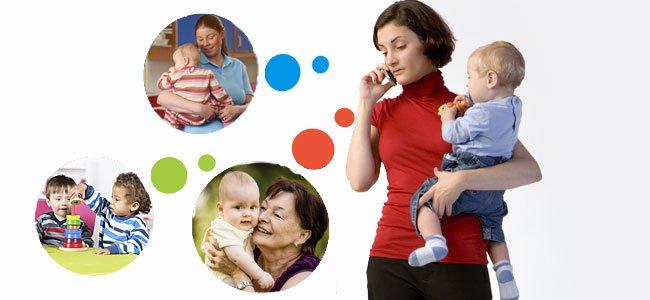 Consejos para elegir niñera, abuela o guardería para cuidar a tu bebé