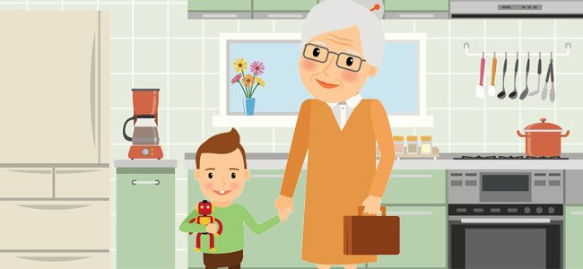 El cuento infantil: Lucas, el niño adoptivo