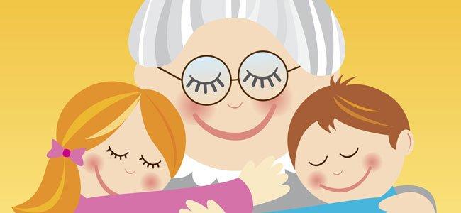 A los abuelos y abuelas  Poemas infantiles cortos