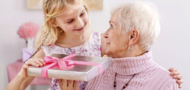 Qué regalar a las abuelas