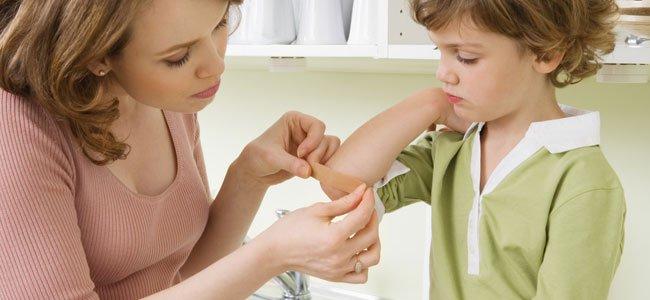 Accidentes con niños en casa