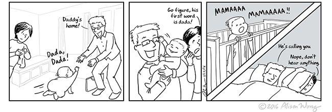 Tira cómica de Alison Wong