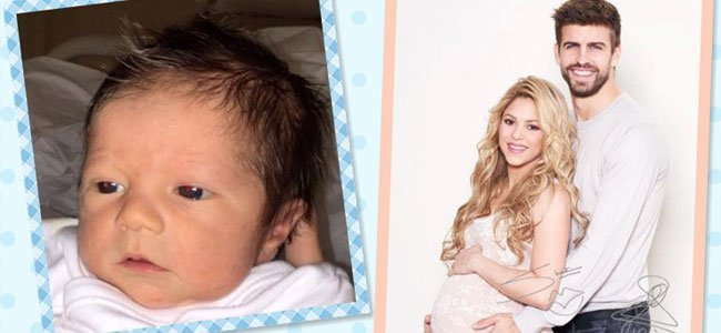 Foto de Sacha, segundo hijo de Shakira