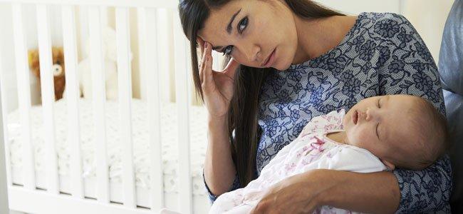 Cansancio y sueño al criar a los hijos
