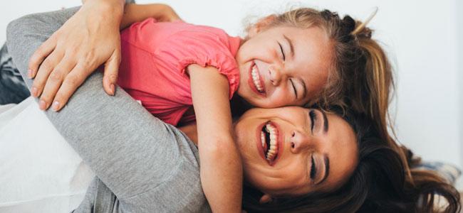 El valor de la risa y la sonrisa en la familia