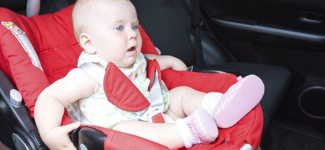 Silla de coche para el bebé