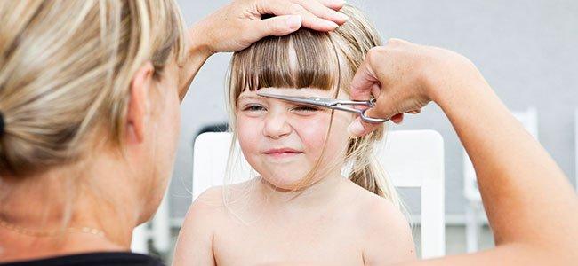Cómo cortar el pelo de los niños
